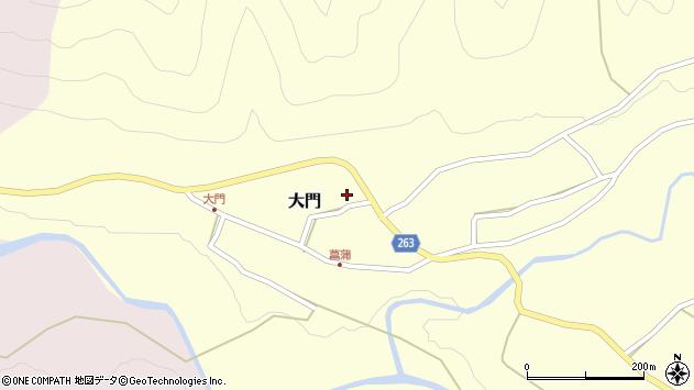山形県上山市大門20周辺の地図