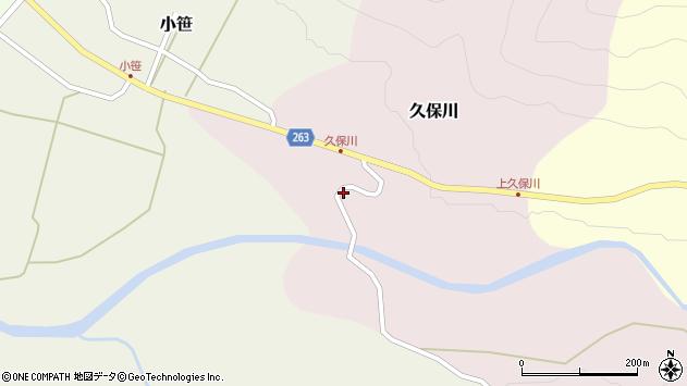 山形県上山市久保川88周辺の地図