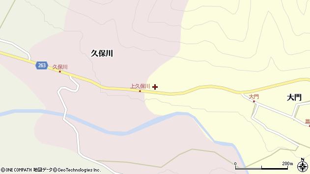 山形県上山市大門西原周辺の地図