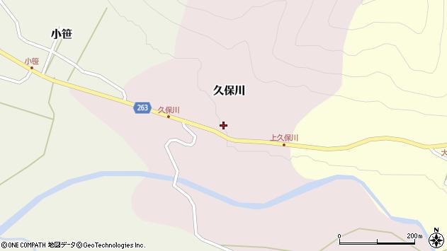 山形県上山市久保川27周辺の地図