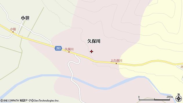 山形県上山市久保川28周辺の地図