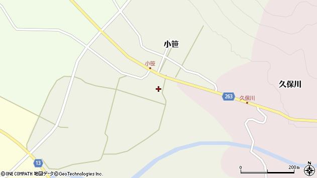 山形県上山市小笹675周辺の地図