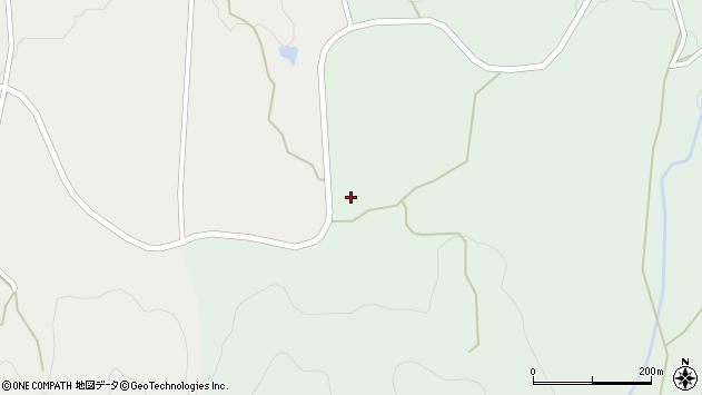 山形県上山市三上半道路1239周辺の地図
