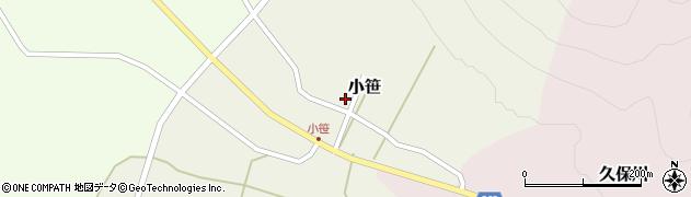 山形県上山市小笹18周辺の地図