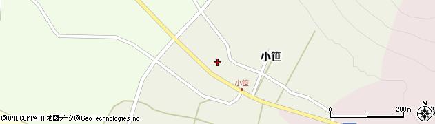 山形県上山市小笹214周辺の地図