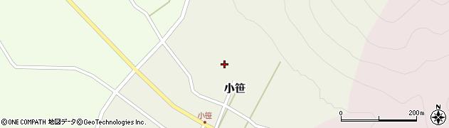 山形県上山市小笹21周辺の地図