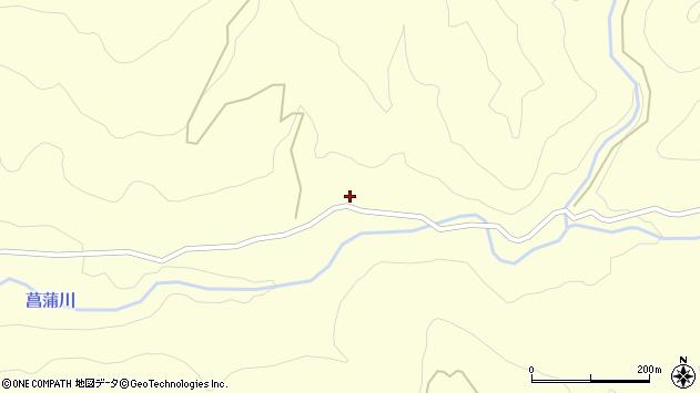 山形県上山市菖蒲645周辺の地図