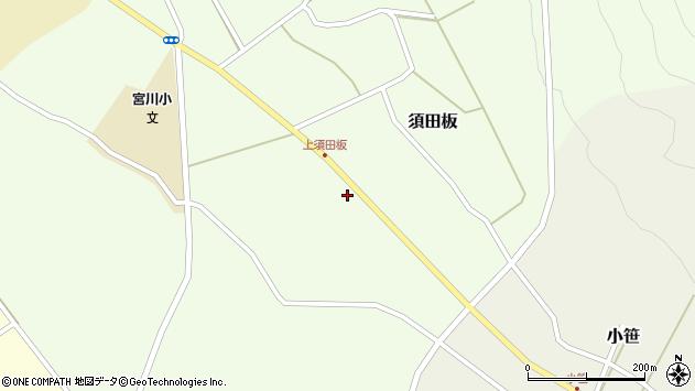 山形県上山市須田板原際704周辺の地図