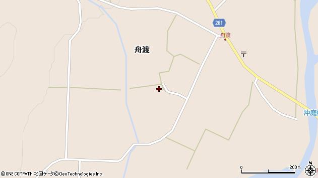 山形県西置賜郡小国町舟渡687周辺の地図