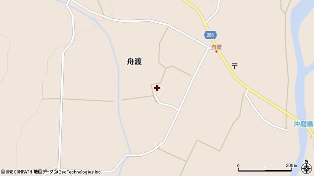 山形県西置賜郡小国町舟渡558周辺の地図