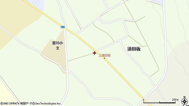 山形県上山市須田板716周辺の地図
