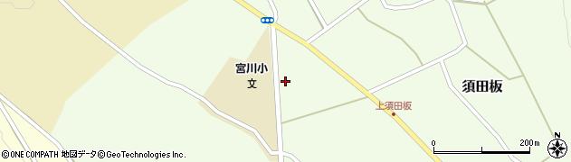 山形県上山市須田板原際742周辺の地図