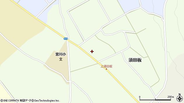山形県上山市須田板588周辺の地図