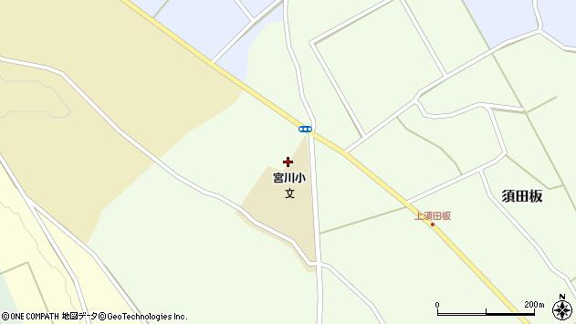 山形県上山市須田板原際753周辺の地図