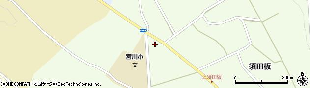 山形県上山市須田板756周辺の地図