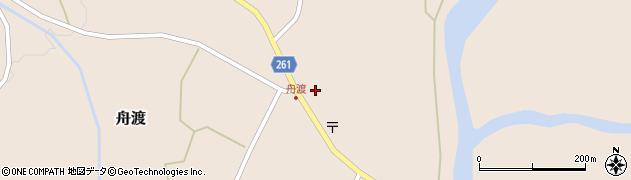 山形県西置賜郡小国町舟渡298周辺の地図