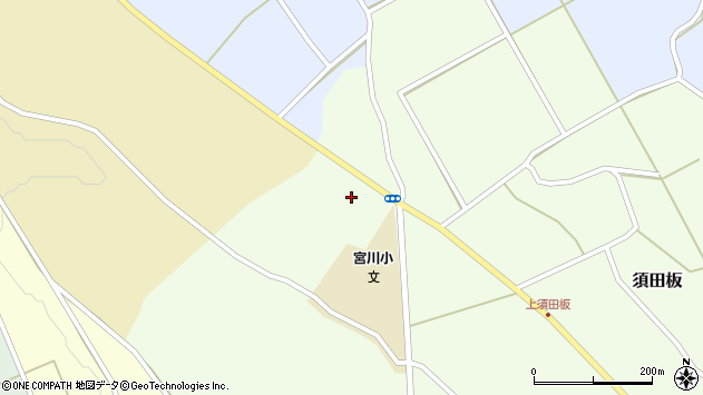 山形県上山市須田板原際739周辺の地図
