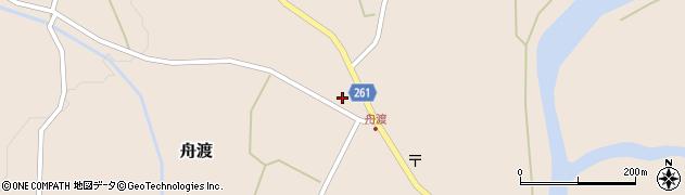 山形県西置賜郡小国町舟渡周辺の地図