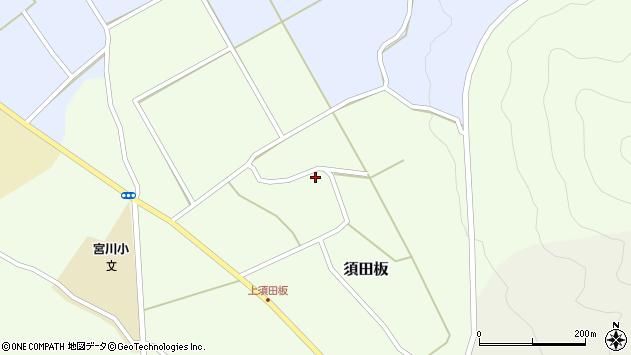 山形県上山市須田板14周辺の地図
