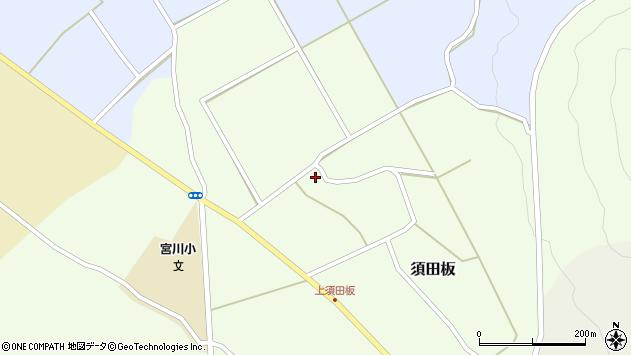 山形県上山市須田板25周辺の地図