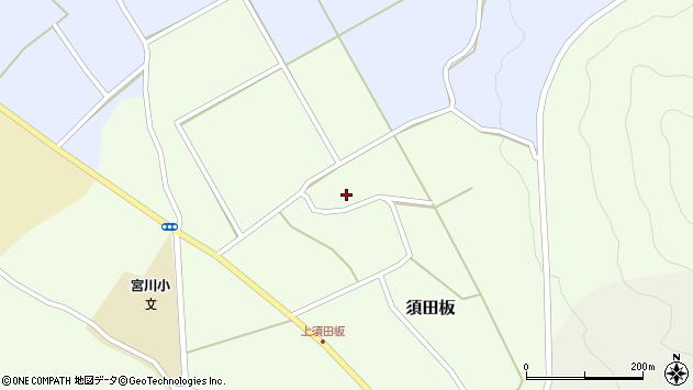 山形県上山市須田板21周辺の地図