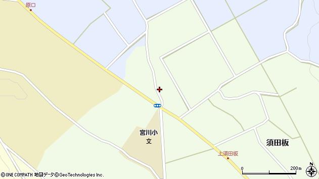 山形県上山市須田板785周辺の地図
