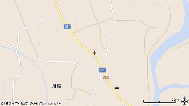 山形県西置賜郡小国町舟渡262周辺の地図