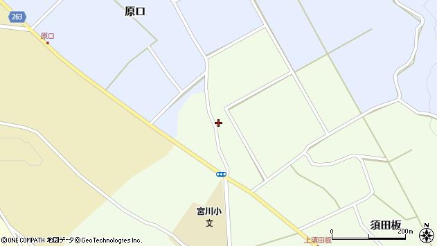 山形県上山市原口513周辺の地図