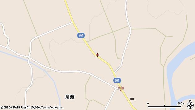 山形県西置賜郡小国町舟渡265周辺の地図