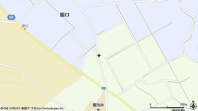 山形県上山市原口510周辺の地図