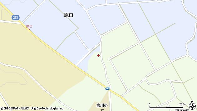 山形県上山市原口500周辺の地図