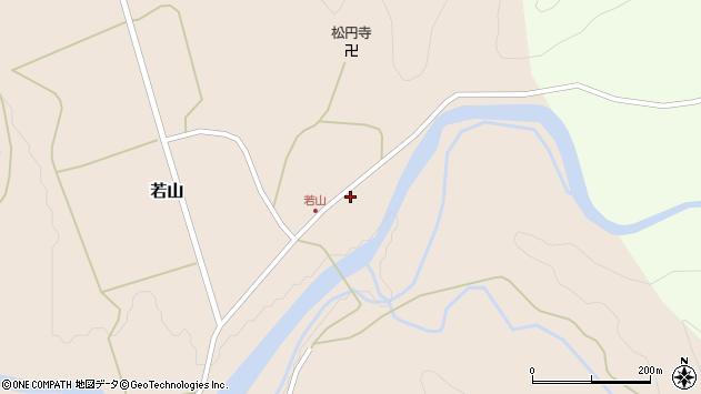 山形県西置賜郡小国町若山284周辺の地図