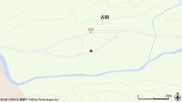 山形県西置賜郡小国町古田368周辺の地図