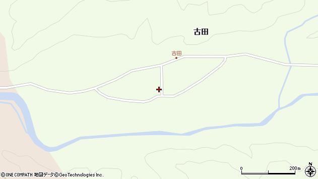 山形県西置賜郡小国町古田373周辺の地図