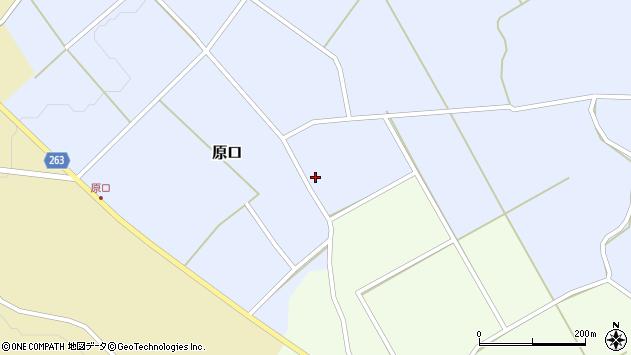 山形県上山市原口567周辺の地図