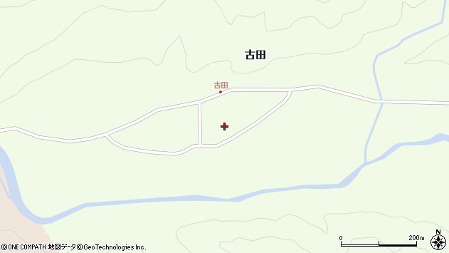 山形県西置賜郡小国町古田367周辺の地図