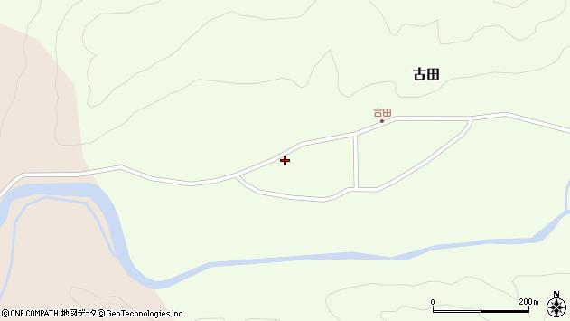 山形県西置賜郡小国町古田431周辺の地図