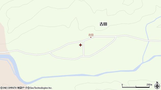 山形県西置賜郡小国町古田390周辺の地図