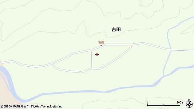 山形県西置賜郡小国町古田365周辺の地図