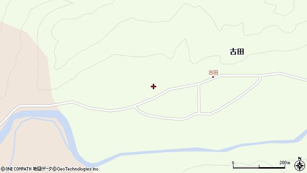山形県西置賜郡小国町古田393周辺の地図
