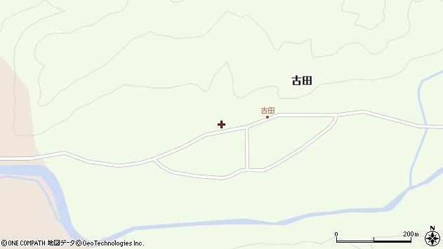 山形県西置賜郡小国町古田395周辺の地図