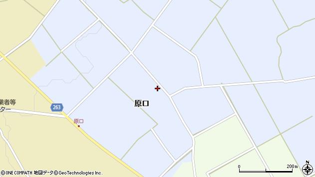 山形県上山市原口448周辺の地図