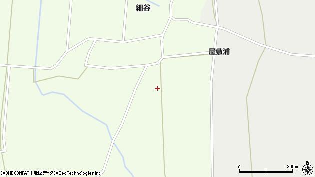 山形県上山市細谷244周辺の地図