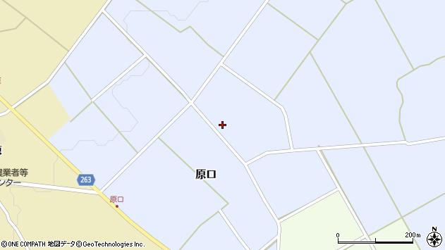 山形県上山市原口609周辺の地図