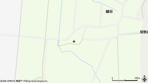 山形県上山市細谷1190周辺の地図