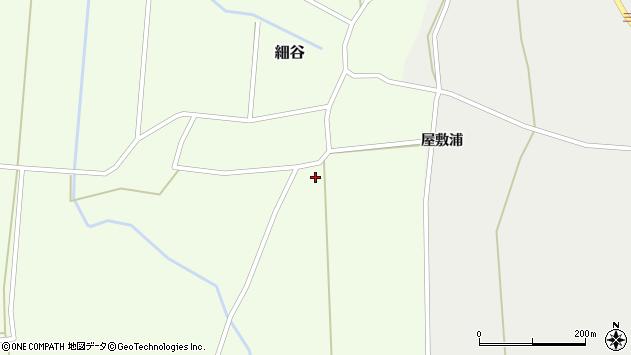 山形県上山市細谷272周辺の地図