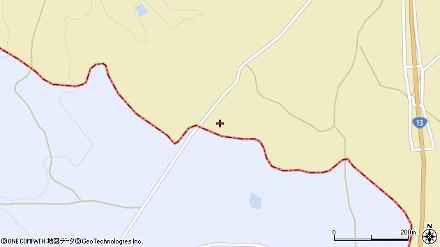 山形県上山市中山栗柄山385周辺の地図