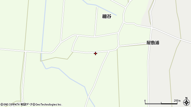 山形県上山市細谷神明前846周辺の地図