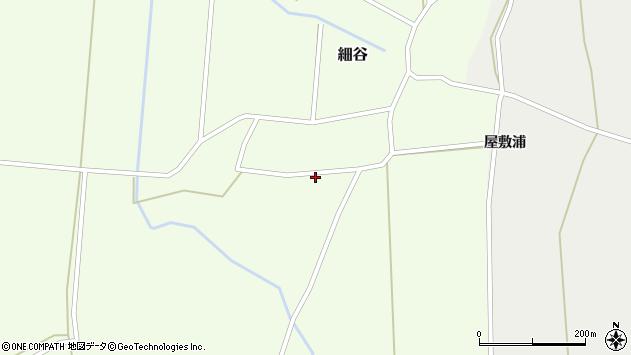 山形県上山市細谷神明前周辺の地図