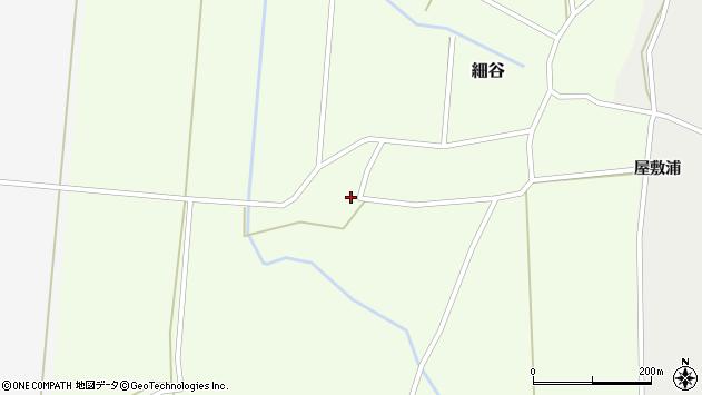 山形県上山市細谷702周辺の地図